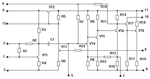 интегральной микросхемы К